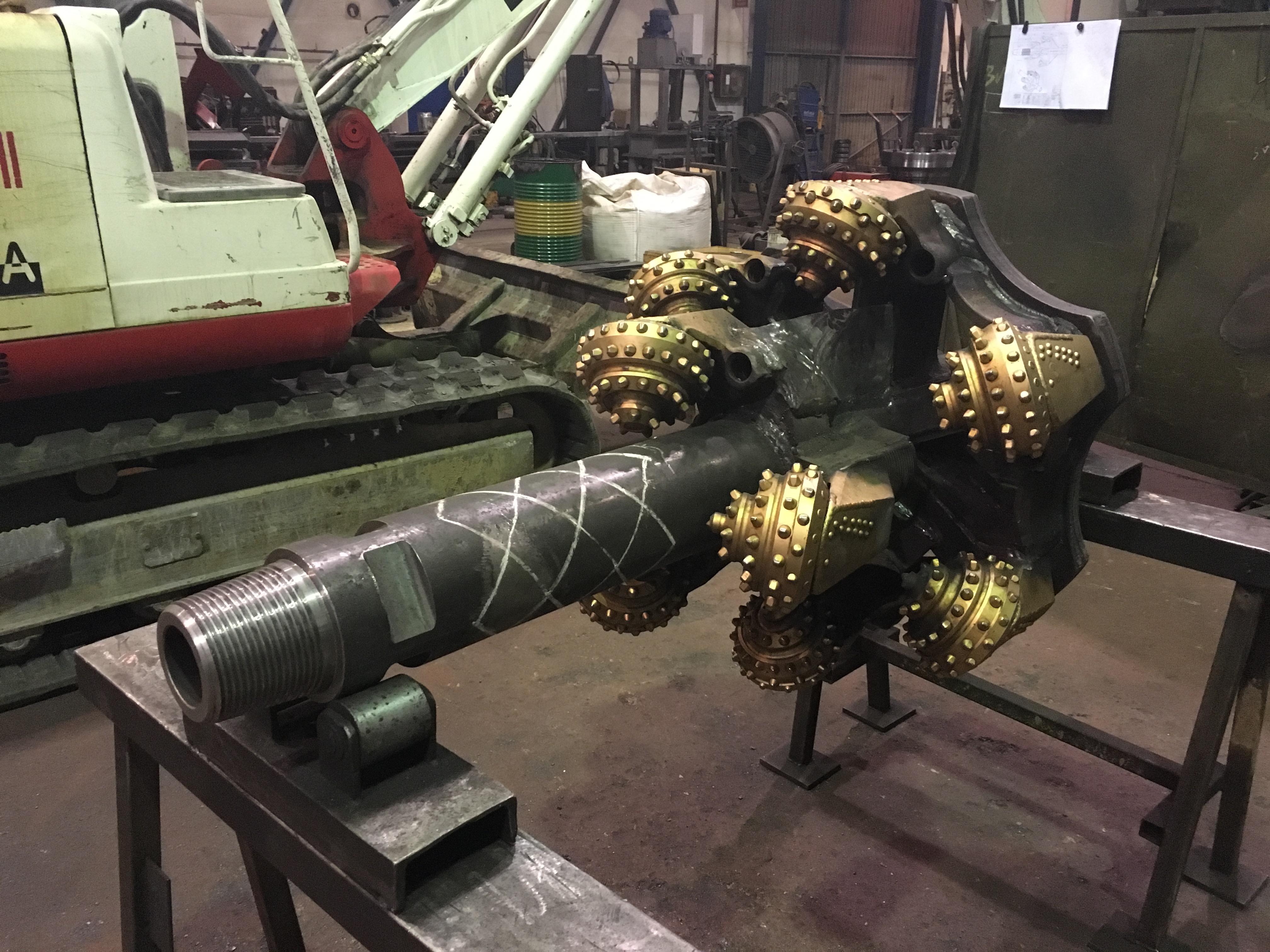 Fabricación Hole Opener Ø1000 y Ø800