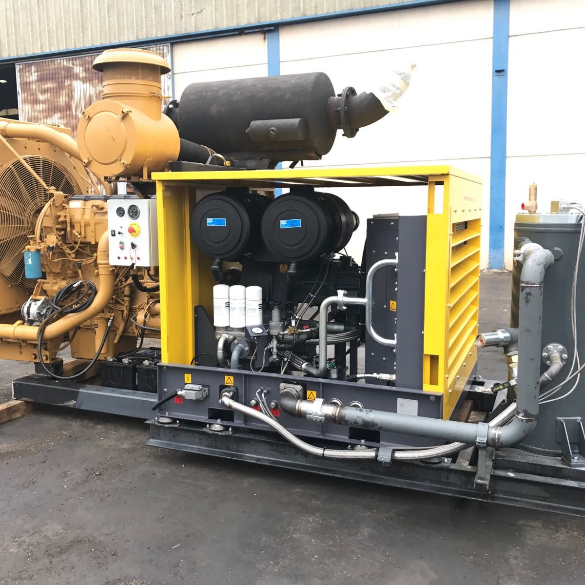 PTO ATLAS COPCO  with engine CAT-18